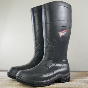 Red Wing Shoes Injex 59001 Men's Black Boots New